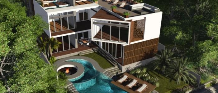 Casa en Venta con Frente de Canal - Puerto Cancun